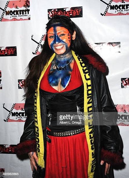 Actress Tag Fatale attends the ShockFest Film Festival Awards held at Raleigh Studios on January 11 2014 in Los Angeles California