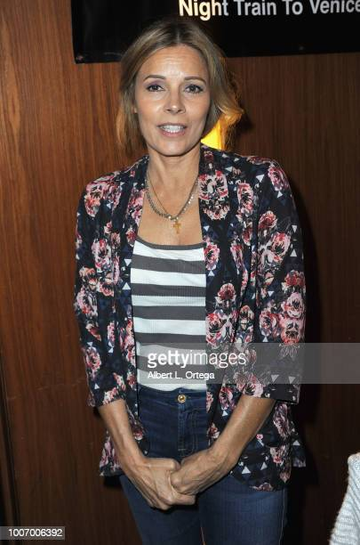 Actress Tahnee Welch attends The Hollywood Show held at The Westin Hotel LAX on July 28 2018 in Los Angeles California