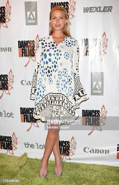 """Actress Tahyna Tozzi attends """"Trophy Kids"""" World Film Festival Premiere at Laemmle Sunset 5 Theatre on June 5, 2011 in West Hollywood, California."""