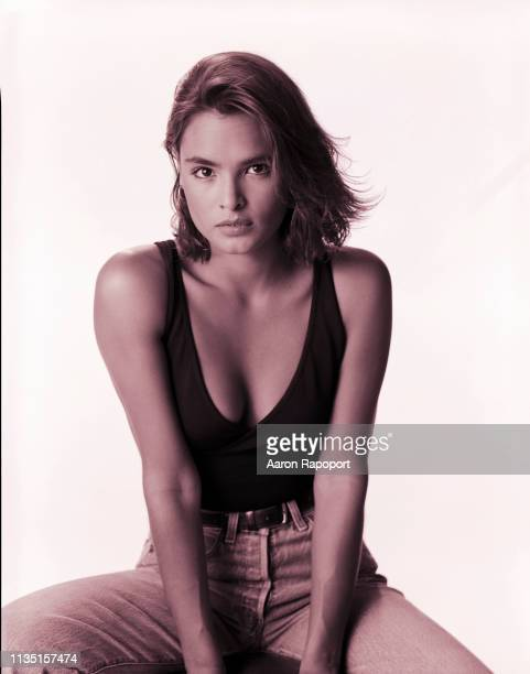 Actress Tails Soto poses for a portrait circa 1990 in Los Angeles California
