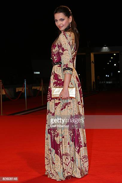 Actress Taina Muller attends the 'Dangkou Plastic City' film premiere at the Sala Grande during the 65th Venice Film Festival on August 30 2008 in...
