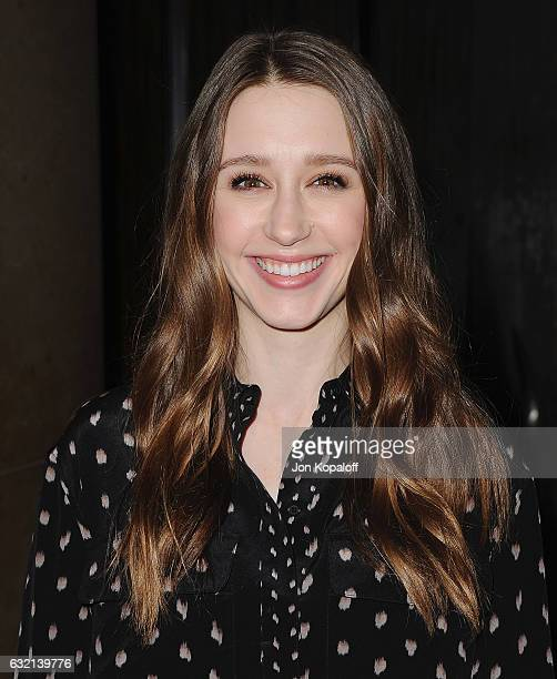 Actress Taissa Farmiga arrives at the 2017 Annual Artios Awards at The Beverly Hilton Hotel on January 19 2017 in Beverly Hills California