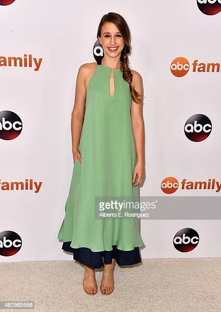 Actress Taissa Farmiga attends Disney ABC Television Group's 2015 TCA Summer Press Tour at the Beverly Hilton Hotel on August 4 2015 in Beverly Hills...
