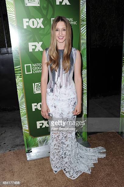 Actress Taissa Farmiga attends FOX 20th Century FOX Television FX Networks and National Geographic Channel's 2014 Emmy Award Nominee Celebration at...