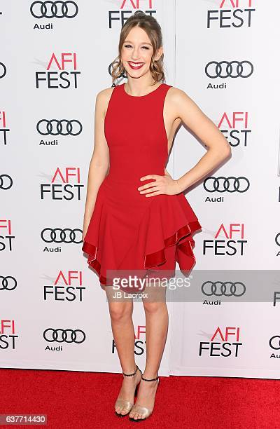 Actress Taissa Farmiga attends the AFI FEST 2016 Presented By Audi Opening Night Premiere Of 20th Century Fox's 'Rules Don't Apply' at TCL Chinese...