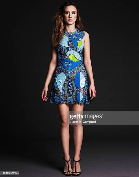 Actress Taissa Farmiga is photographed for Just Jared on January 14 2015 in Los Angeles California PUBLISHED IMAGE