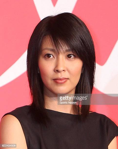 Actress Takako Matsu attends press conference of film 'Confessions' on May 20 2010 in Tokyo Japan