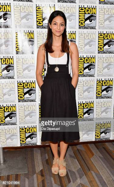 "Actress Tala Ashe attends DC's ""Legends Of Tomorrow"" Press Line duirng Comic-Con International 2017 at Hilton Bayfront on July 22, 2017 in San Diego,..."