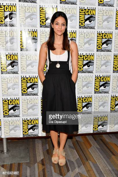 Actress Tala Ashe attends DC's 'Legends Of Tomorrow' Press Line duirng ComicCon International 2017 at Hilton Bayfront on July 22 2017 in San Diego...