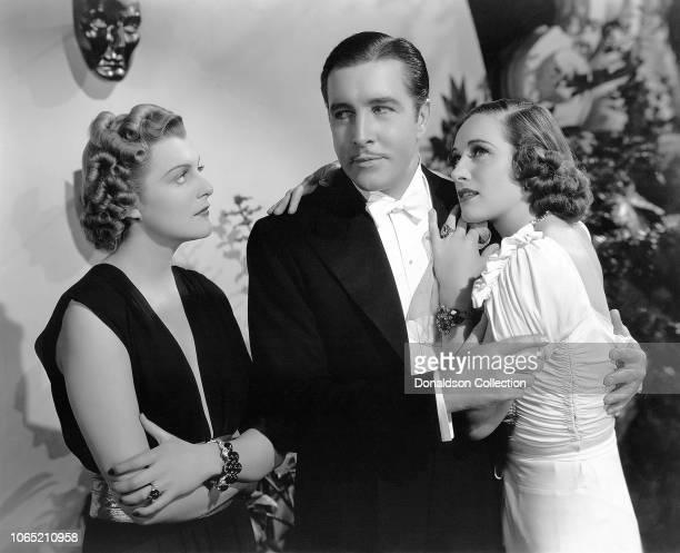 Actress Tala Birell and John Boles Doris Nolan in a scene from the movie As Good as Married
