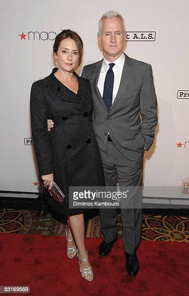 Actress Talia Balsam and actor John Slattery attend the Project ALS 11th Annual 'Tomorrow is Tonight' Benefit Gala at The Waldorf Astoria on October...