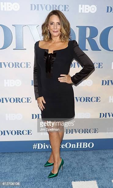 Actress Talia Balsam attends the 'Divorce' New York premiere at SVA Theater on October 4 2016 in New York City