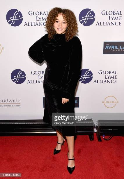 Actress Talia Jackson attends the Global Lyme Alliance's 5th Annual New York City Gala at Cipriani 42nd Street on October 10 2019 in New York City