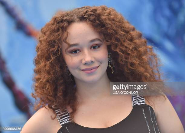 Actress Talia Jackson attends the 'How To Train Your Dragon The Hidden World' Los Angeles premiere in Los Angeles California on February 9 2019
