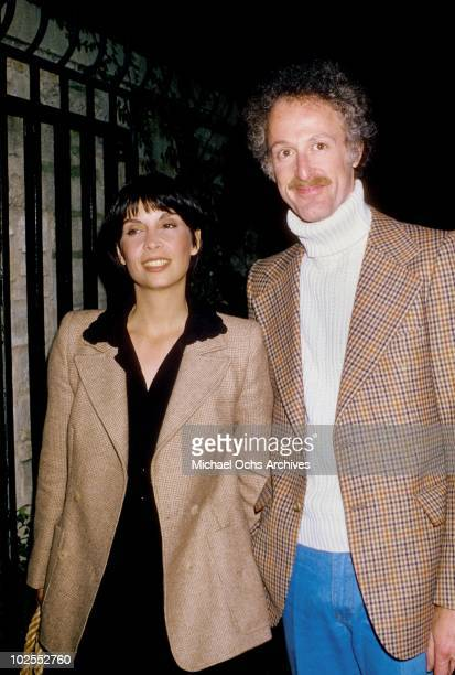 Actress Talia Shire and her husband composer David Shire attend an event circa 1975 in Los Angeles California