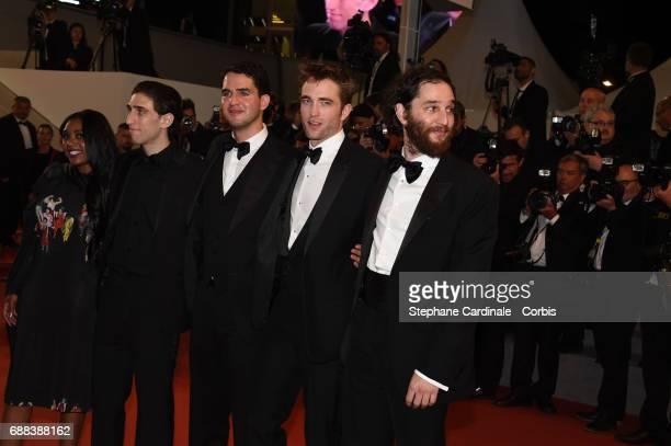 Actress Taliah Webster Actor Buddy Duress writer and codirector Ben Safdie actor Robert Pattinson and Codirector Joshua Safdie attend the 'Good Time'...
