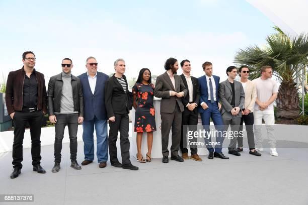 Actress Taliah Webster writer and codirector Joshua Safdie codirector Ben Safdie actor Robert Pattinson actor Buddy Duress producers Oscar Boyson and...