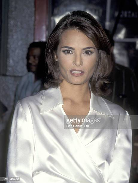 Actress Talisa Soto attends the 'Mortal Kombat' Hollywood Premiere on August 16, 1995 at Mann's Chinese Theatrein Hollywood, California.