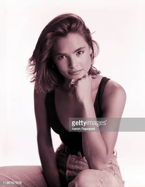 Actress Talisa Soto poses for a portrait circa 1990 in Los Angeles California