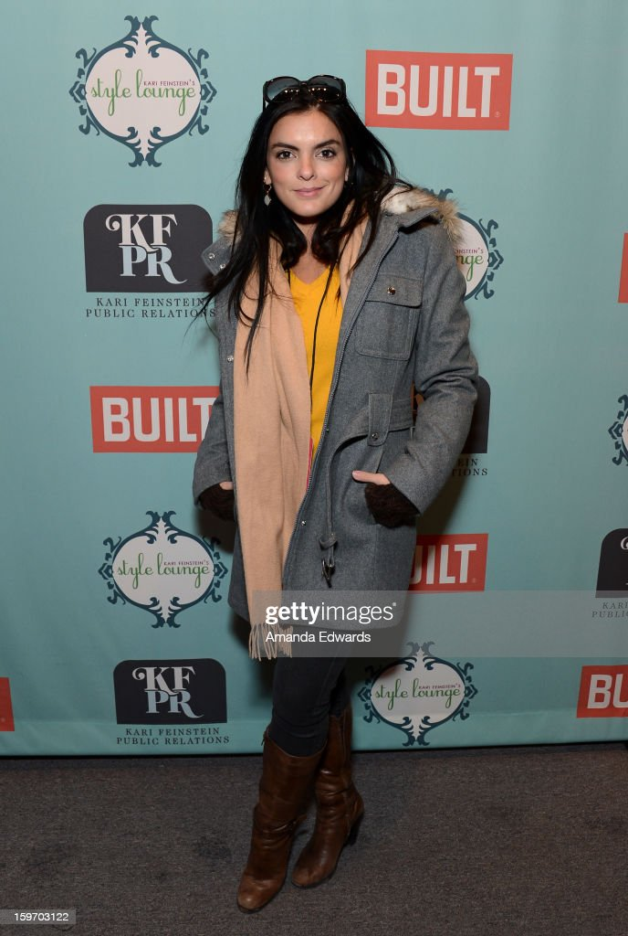 Actress Talita Maia attends Day 1 of the Kari Feinstein Style Lounge on January 18, 2013 in Park City, Utah.