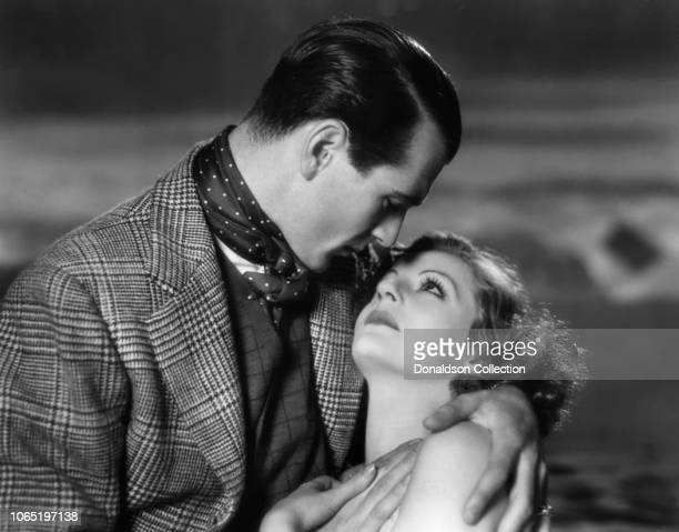 Actress Tallulah Bankhead and Gary Cooper in a scene from the movieDevil and the Deep