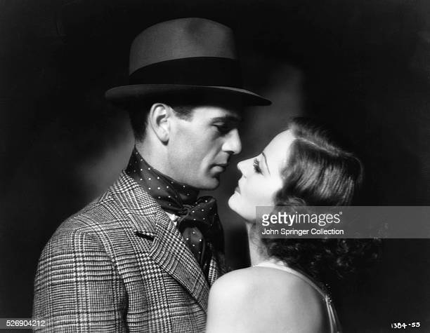 Actress Tallulah Bankhead as Diana Sturm with Gary Cooper as Lieutenant Sempter from the 1932 film Devil and the Deep