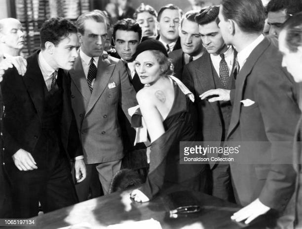 Actress Tallulah Bankhead in a scene from the movieDevil and the Deep