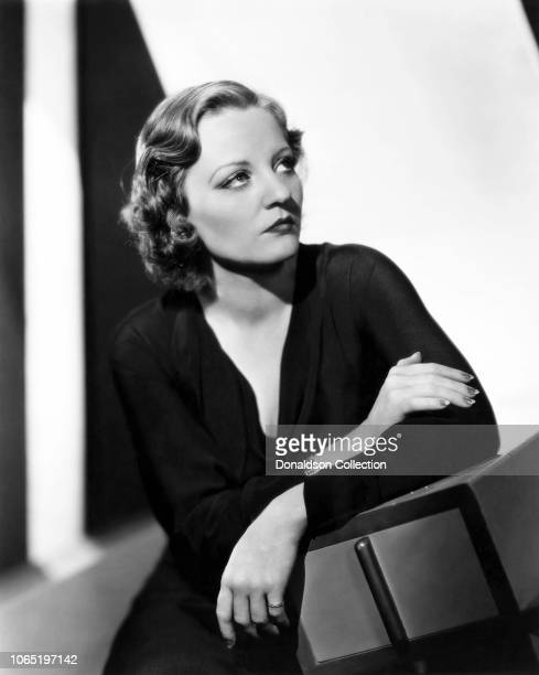 Actress Tallulah Bankhead in a scene from the movieMy Sin