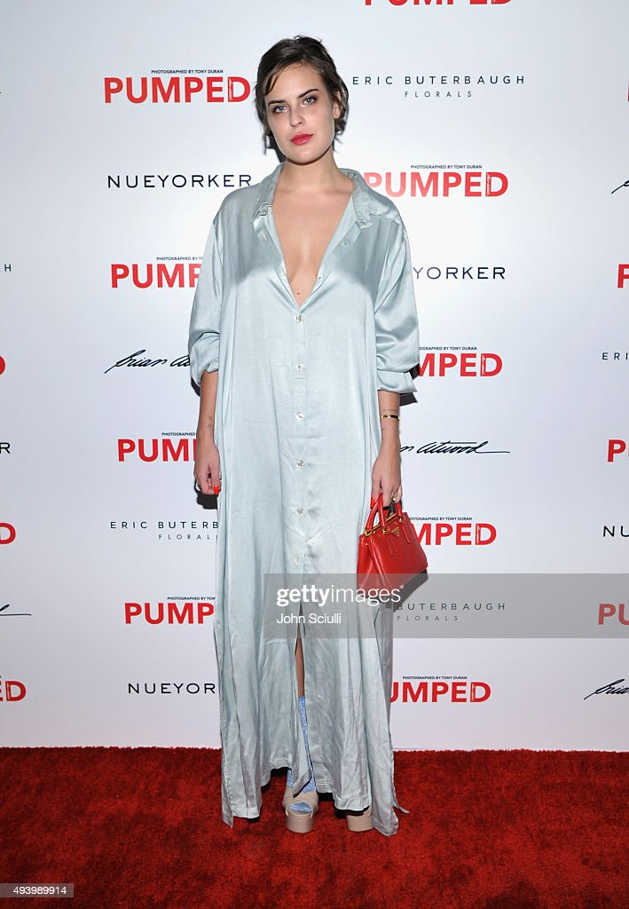 Actress Tallulah Belle Willis attends Brian Atwood's Celebration of PUMPED hosted by Melissa McCarthy and Eric Buterbaugh on October 23, 2015 in Los Angeles, California.