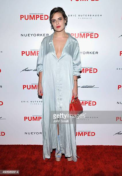 Actress Tallulah Belle Willis attends Brian Atwood's Celebration of PUMPED hosted by Melissa McCarthy and Eric Buterbaugh on October 23 2015 in Los...