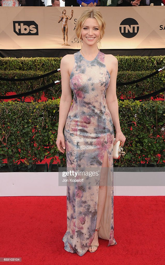 Actress Talulah Riley arrives at the 23rd Annual Screen Actors Guild Awards at The Shrine Expo Hall on January 29, 2017 in Los Angeles, California.