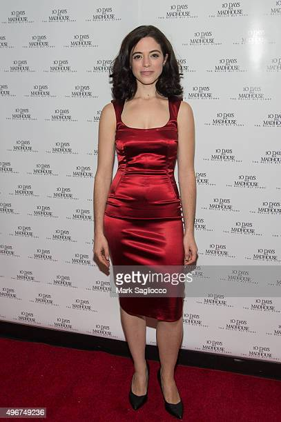 Actress Talya Mar attends '10 Days in a Madhouse' New York premiere at the AMC Empire 25 theater on November 11 2015 in New York City