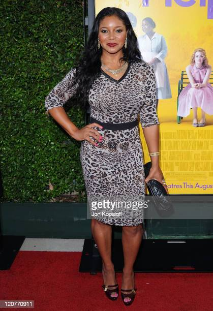 Actress Tamala Jones arrives at the Los Angeles Premiere The Help at AMPAS Samuel Goldwyn Theater on August 9 2011 in Beverly Hills California