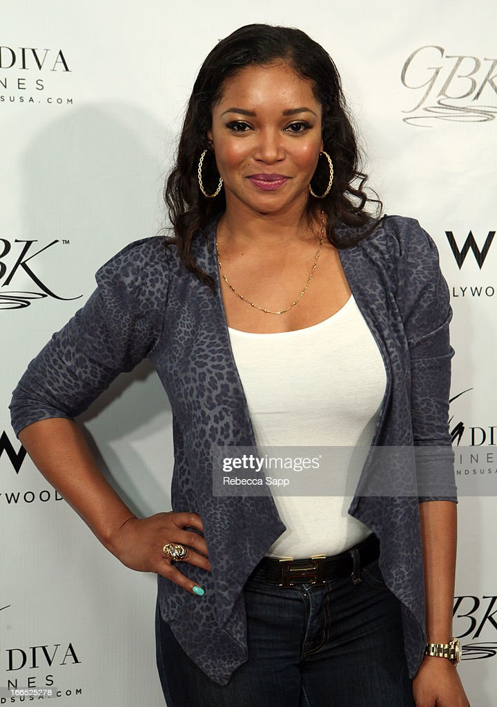 Actress Tamala Jones at GBK Gift Lounge In Honor Of The MTV Movie Award Nominees And Presenters - Day 2 at W Hollywood on April 13, 2013 in Hollywood, California.