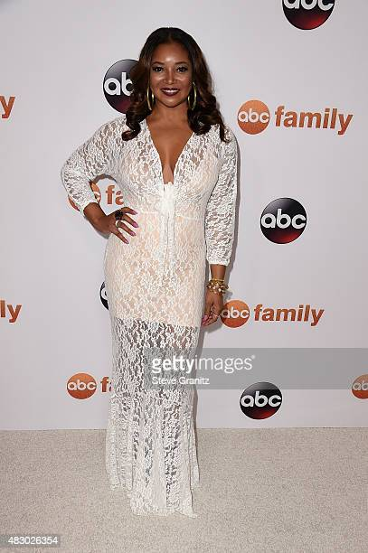 Actress Tamala Jones attends Disney ABC Television Group's 2015 TCA Summer Press Tour at the Beverly Hilton Hotel on August 4, 2015 in Beverly Hills,...