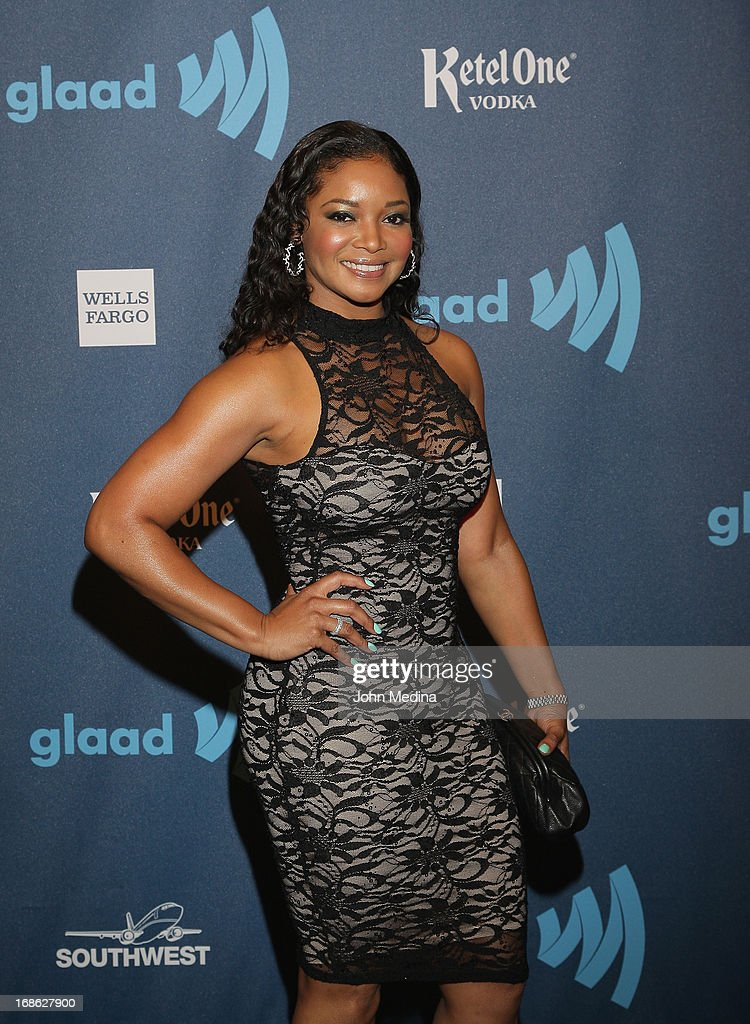 Actress Tamala Jones attends the 24th Annual GLAAD Media Awards at the Hilton San Francisco - Union Square on May 11, 2013 in San Francisco, California.
