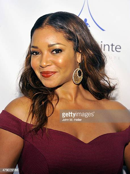 Actress Tamala Jones attends the 5th Annual Unstoppable Gala at the Hyatt Regency Century Plaza Hotel on March 15 2014 in Century City California