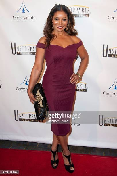 Actress Tamala Jones attends the 5th Annual Unstoppable Gala held at the Hyatt Regency Century Plaza on March 15, 2014 in Century City, California.