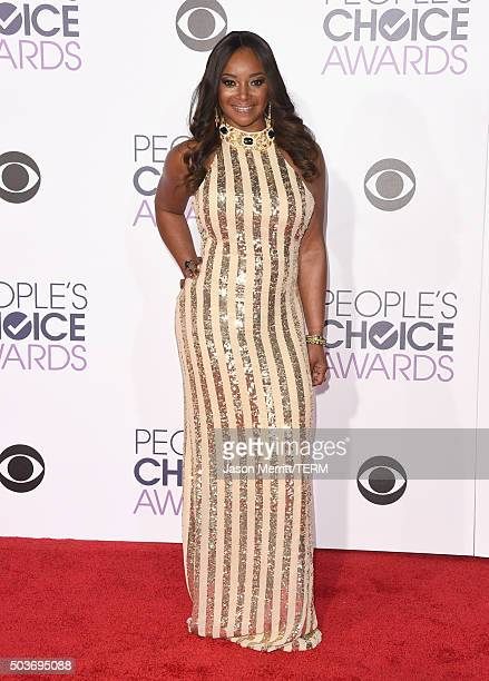 Actress Tamala Jones attends the People's Choice Awards 2016 at Microsoft Theater on January 6, 2016 in Los Angeles, California.