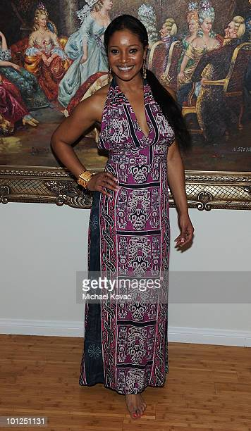 """Actress Tamala Jones hosts the """"35 And Ticking"""" Film Wrap Party on May 28, 2010 in Woodland Hills, California."""