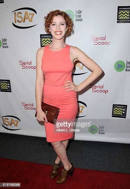 Actress Tamar Pelzig at the 7th Annual Indie Series Awards held at El Portal Theatre on April 6 2016 in North Hollywood California