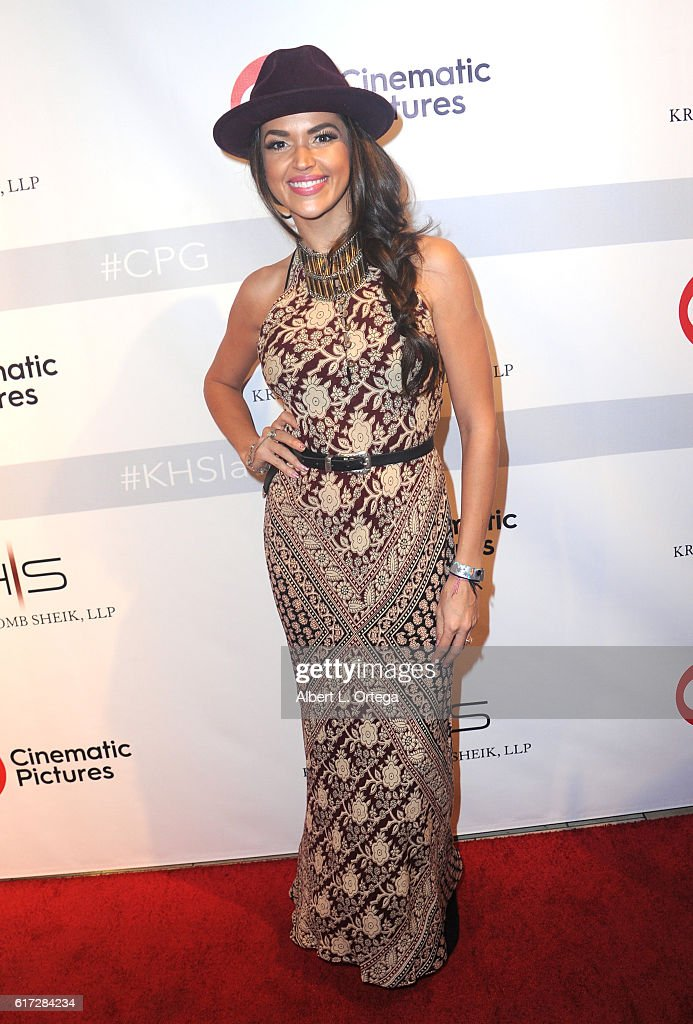Actress Tamara Duarte at the Launch Of Cinematic Pictures Gallery held at Hollywood And Highland Center on October 21, 2016 in Los Angeles, California.