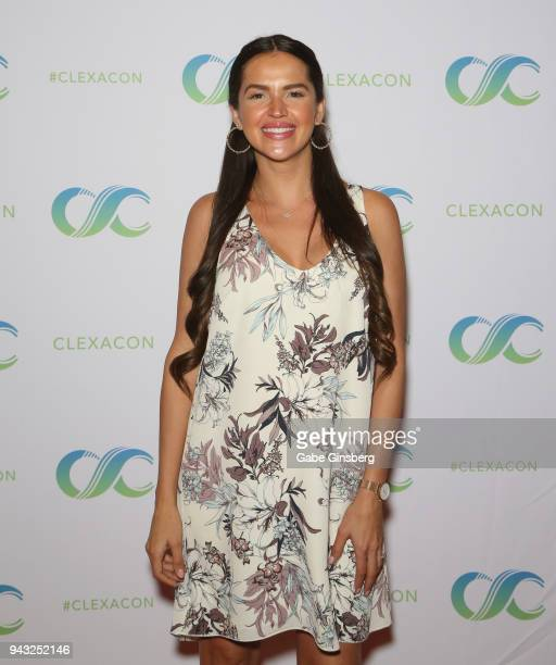 Actress Tamara Duarte attends the Cocktails for Change fundraiser hosted by ClexaCon to benefit Cyndi Lauper's True Colors Fund at the Tropicana Las...