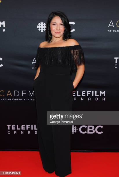 Actress Tamara Podemski attends the 2019 Canadian Screen Awards Broadcast Gala at Sony Centre for the Performing Arts on March 31 2019 in Toronto...