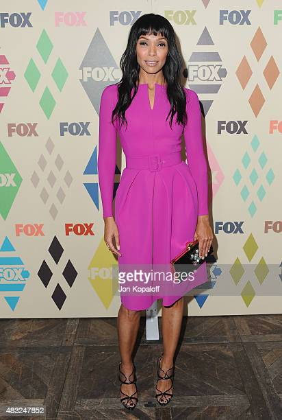 Actress Tamara Taylor arrives at the 2015 Summer TCA Tour FOX AllStar Party at Soho House on August 6 2015 in West Hollywood California