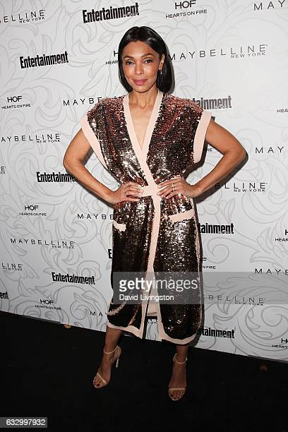 Actress Tamara Taylor arrives at the Entertainment Weekly celebration honoring nominees for The Screen Actors Guild Awards at the Chateau Marmont on...