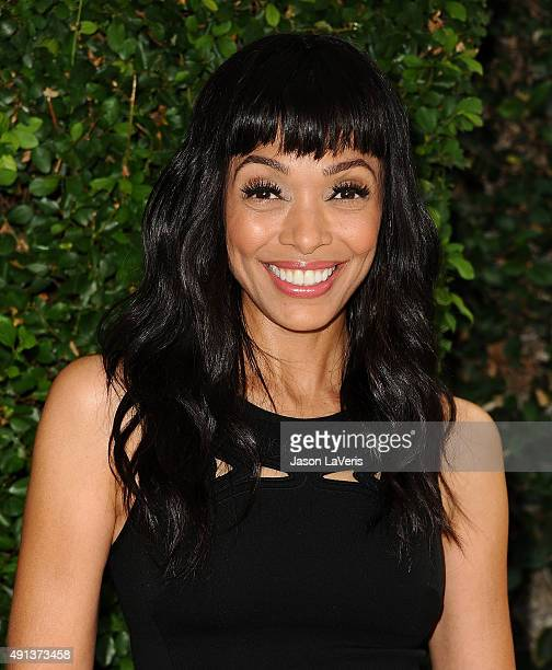 Actress Tamara Taylor attends the Rape Foundation's annual brunch at Greenacres The Private Estate of Ron Burkle on October 4 2015 in Beverly Hills...