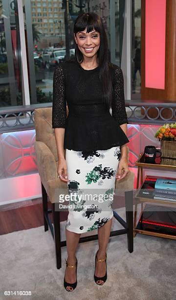 Actress Tamara Taylor visits Hollywood Today Live at W Hollywood on January 10 2017 in Hollywood California