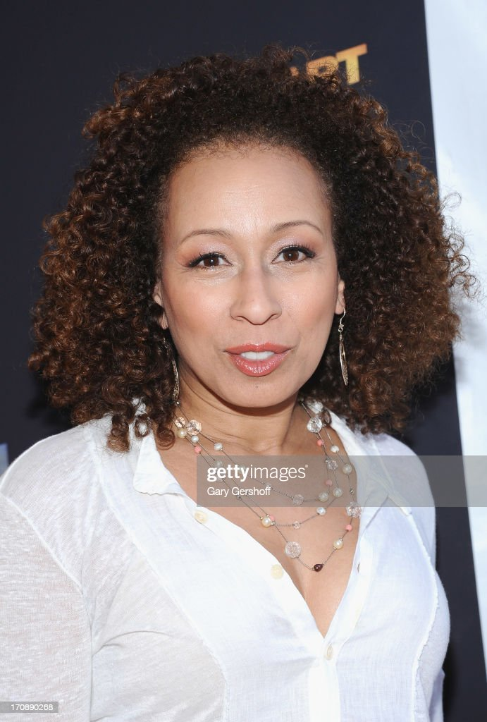 Actress Tamara Tunie attends 'Kevin Hart:Let Me Explain' New York Premiere at Regal Cinemas Union Square on June 19, 2013 in New York City.