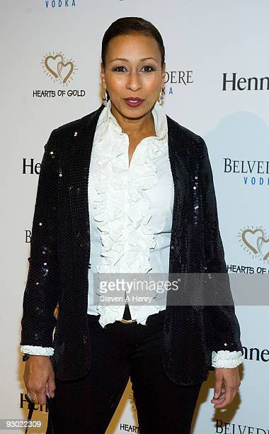 Actress Tamara Tunie attends the 13th annual Hearts of Gold gala at the Metropolitan Pavilion on November 12 2009 in New York City